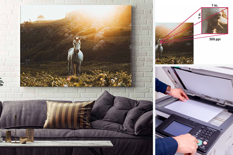 The Best Image Quality and Size for Canvas Printing