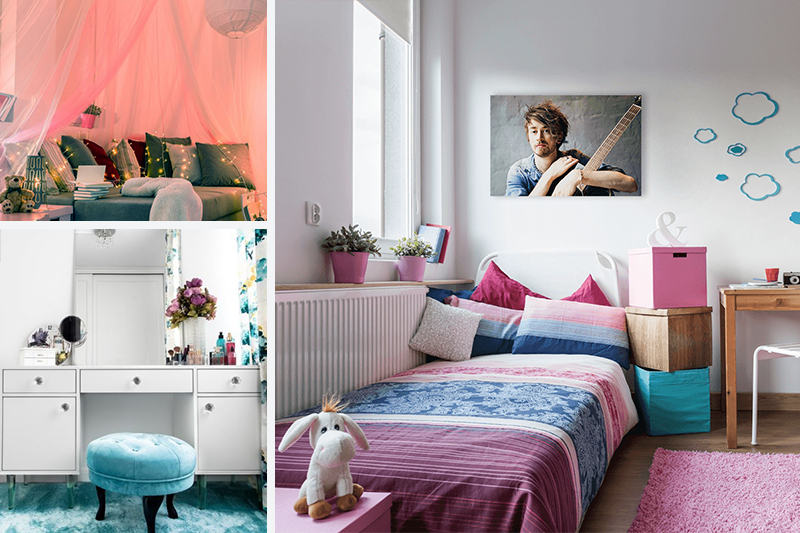 How to Style a Totally Cool Teen Girl's Bedroom