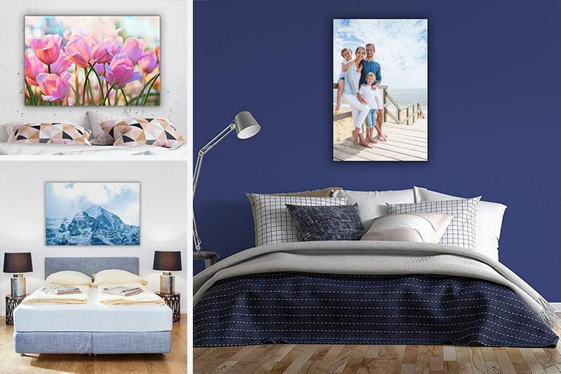 Creating a Dreamscape Bedroom with Canvas Prints